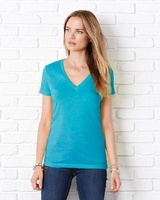 Bella - Jersey Deep V-Neck T-Shirt - 6035 - 27 Colors - S-2XL