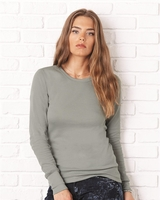 Bella - Ladies Long Sleeve Thermal Shirt - 8500 - 3 Colors - S-2XL