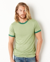 Canvas - Robertson Heather Ringer T-Shirt - 3055 - 8 Colors - S-2XL