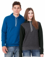 Canvas - Unisex Poly/Cotton Hooded Pullover Sweatshirt - 3719 - 15 Colors - XS-3XL
