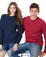 Canvas - Unisex Triblend Sponge Fleece Crewneck Sweatshirt - 3901 - 13 Colors - XS-2XL