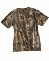 Code V - Realtree Camouflage Short Sleeve T-Shirt with a Pocket - 3982 - S-2XL