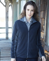 Colorado Clothing - Ladies Colorblocked Full-Zip Microfleece Jacket - 5297 - 4 Colors - S-2XL