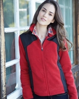 Colorado Clothing - Ladies Telluride Nylon/Polarfleece Jacket - 7116
