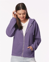 Comfort Colors - Pigment Dyed Ladies Full-Zip Hooded Sweatshirt - 1598 - 5 Colors - S-2XL