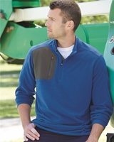 DRI DUCK - Interval DDX Quarter-Zip Nano-Fleece Nylon Pullover - 7345 - 5 Colors - S-3XL