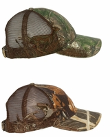DRI DUCK - Mesh Wildlife Series Trucker Cap - 3301 3254 - Mallard or Buck