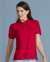 Gildan - Ladies Ultra Cotton Pique Knit Sport Shirt - 3800L - S-2XL - 5 Colors