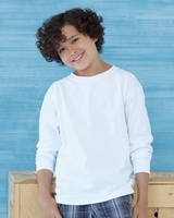Gildan Ultra Cotton Youth Long Sleeve T-shirt - 2400B - 15 Colors - S-XL