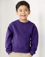 JERZEES - NuBlend Youth Crewneck Sweatshirt - 562B - 17 Colors - S-XL