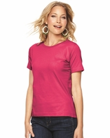 L.A.T Sportswear - Ladies Scoopneck T-Shirt - 3580 - 23 Colors - S-3XL