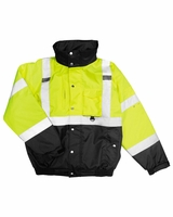 ML Kishigo - Hi-Vis Jacket - JS130 - Lime/Black - M-5XL
