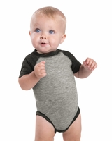 Rabbit Skins - Infant Baseball Fine Jersey Bodysuit - 4430 - 6M-24M - 9 Colors