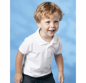 eac06973e Rabbit Skins - Toddler Jersey Golf Shirt Polo - 4600 - 7 Colors - 2T-5/6