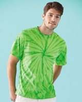 Tie-Dyed - Cyclone Pinwheel Short Sleeve T-Shirt - 200CY - S-3XL - 16 Colo9rs
