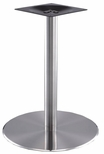 High Quality Stainless Steel Dining Height Round Outdoor Table Base [SS14-23D-AMF]