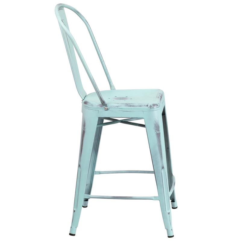 click on a thumbnail to enlarge - Metal Counter Stools