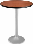 30'' Round Folding Cafe Table - Cherry [CFT30RD-CHY-3-MFO]