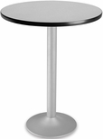 30'' Round Folding Cafe Table - Gray Nebula [CFT30RD-GRYNB-3-MFO]