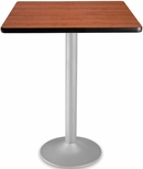 30'' Square Folding Cafe Table - Cherry [CFT30SQ-CHY-3-MFO]