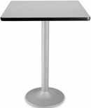 30'' Square Folding Cafe Table - Gray Nebula [CFT30SQ-GRYNB-3-MFO]