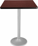 30'' Square Folding Cafe Table - Mahogany [CFT30SQ-MHGY-3-MFO]
