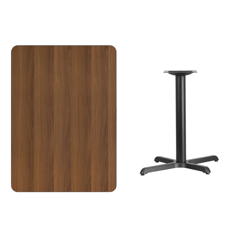 30 39 39 x 42 39 39 rectangular walnut laminate table top with 22 for 12 x 30 table