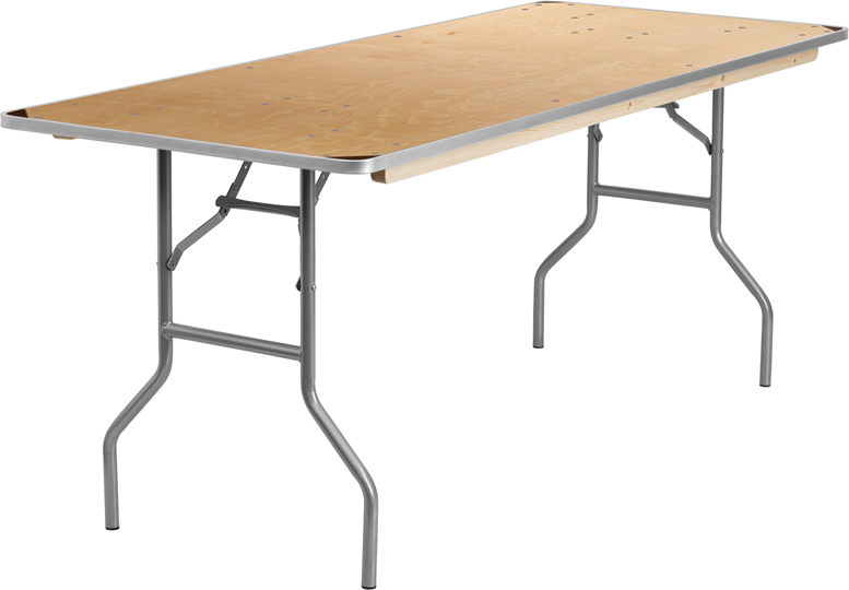 click on a thumbnail to enlarge - 6 Foot Folding Table
