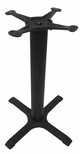 4 Prong Cast Iron Dining Height Table Base with 22'' Base Spread [JI3-22TP12-JIB]
