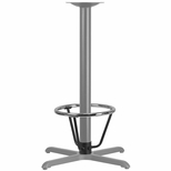 Bar Height Table Base Foot Ring with 3.25'' Column Ring - 16'' Diameter [BFHD-RING-3BAR-TDR]