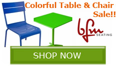 BFM Seating Table & Chair Sale!!