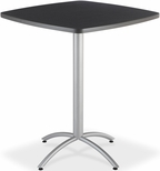 CafeWorks Bistro 36'' Square Table - Graphite Granite [65638-ICE]