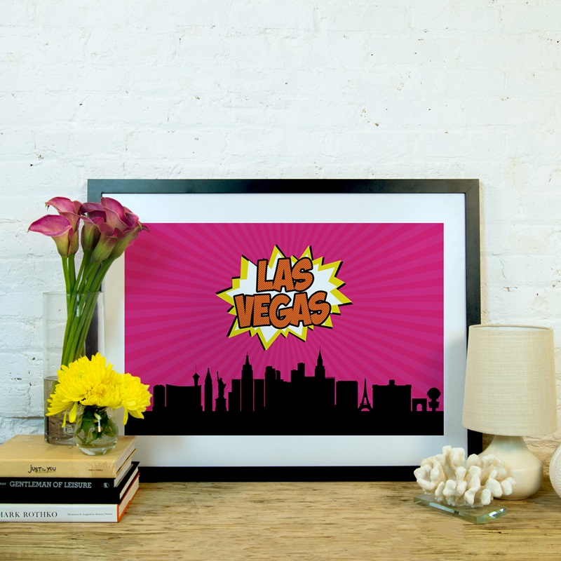 Comic book skyline series las vegas by octavian mielu for Furniture 4 less las vegas