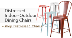 Distressed Indoor-Outdoor Chairs