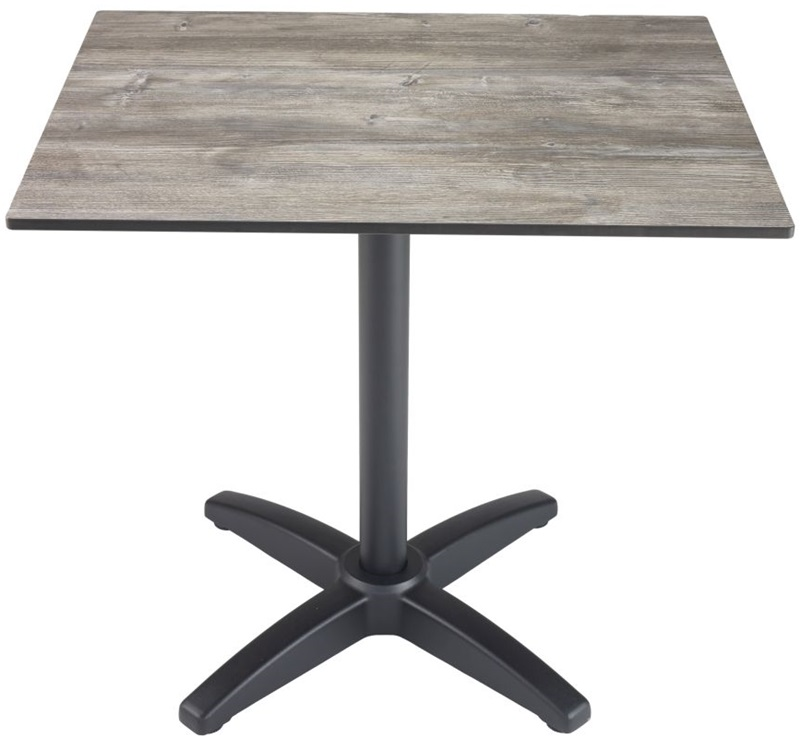 Element 36 39 39 square outdoor laminate top with x shaped for Table th width attribute