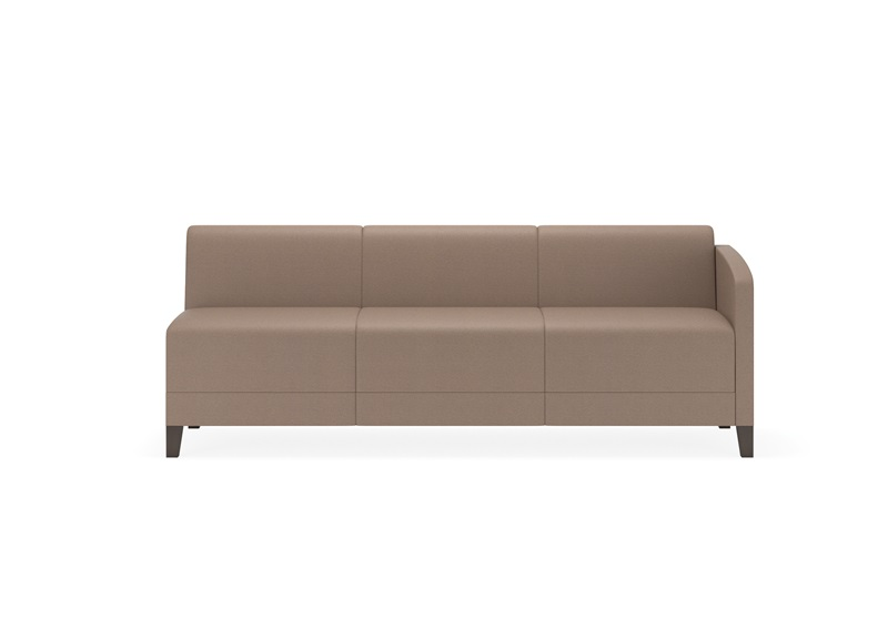 Fremont series sofa with left arm only e3401l8 for Sofa with only one arm