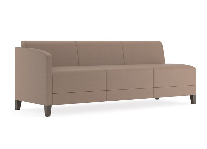 Fremont series sofa with right arm only e3401r8 for Sofa with only one arm