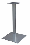 High Quality Stainless Steel Bar Height Square Outdoor Table Base [SS05-23H-AMF]