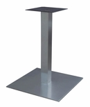 High Quality Stainless Steel Dining Height Square Outdoor Table Base [SS05-23D-AMF]