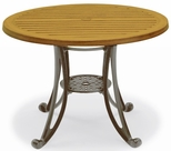 Madison Outdoor Faux Wood Table - 36'' Round [MA2I32C-WBV]