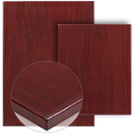 Solid Colored Resin Table Tops