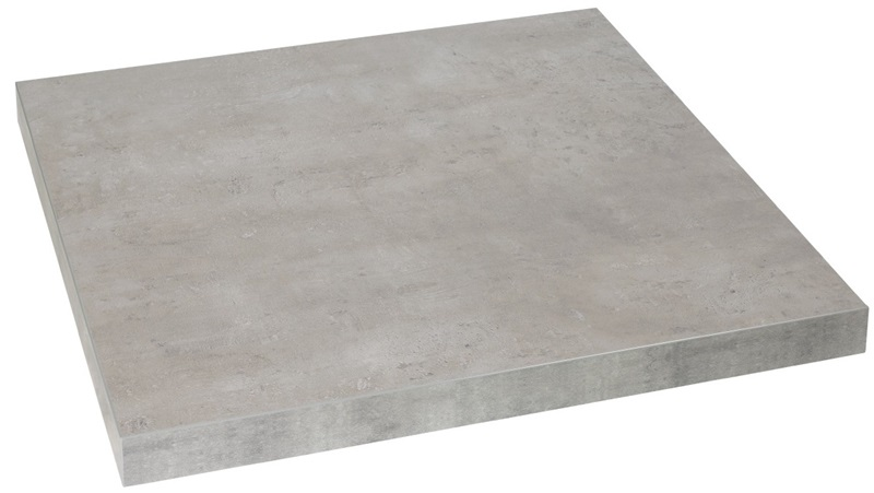 Marco 36 Square Indoor Table Top With Concrete Melamine