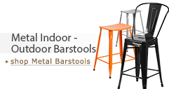 Metal Indoor & Outdoor Counter & Bar Stools