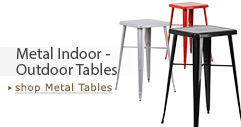 Metal Indoor-Outdoor Tables