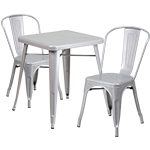 Indoor-Outdoor Metal Table & Chair Sets