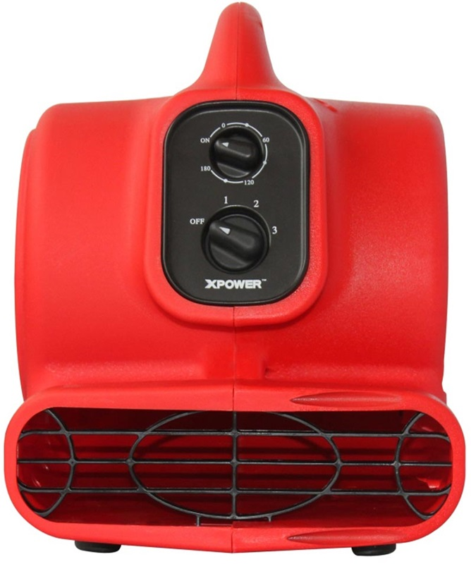 P 200at mini air mover with built in power outlets for for Furniture 4 less outlet
