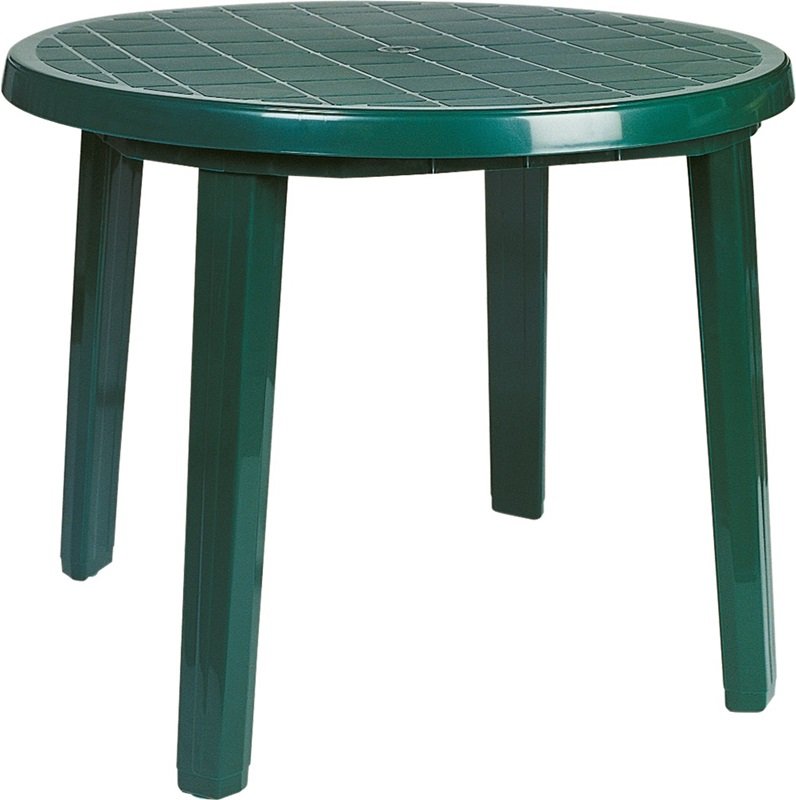 Click on a thumbnail to EnlargeSunny Outdoor Resin 35 5 D Round Dining Table with Umbrella Hole  . Patio Furniture With Umbrella Hole. Home Design Ideas
