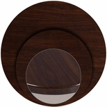 Round Walnut <font color = blue><b>Resin</b></font> Table Top [BFDH-WARD-TDR]