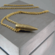 .223 Bullet Head Necklace