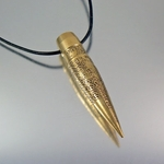 2nd Amendment .50 Caliber Bullet Necklace